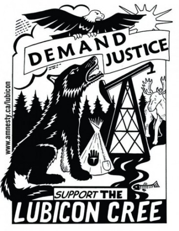 Demand Justice, Support the Lubicon Cree