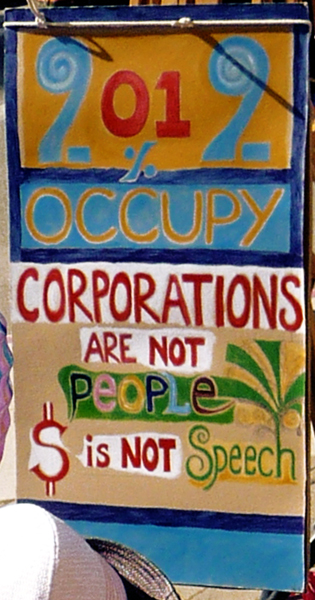 Corporations are not People!