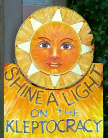 Shine a Light on the Kleptocracy (Sun)