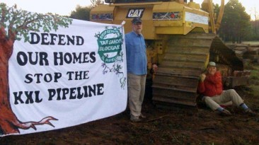 Defend Our Homes. Stop the KXL Pipeline.