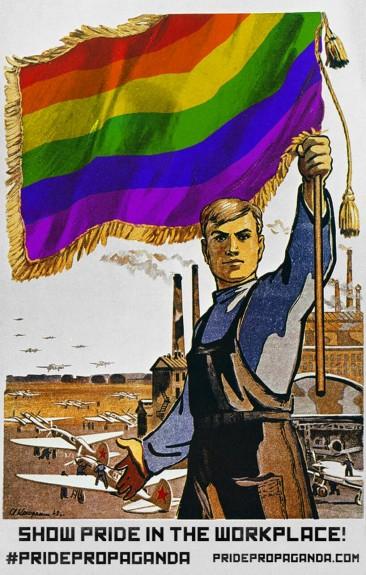 Gallery: Soviet Propaganda Turned LGBT Pride