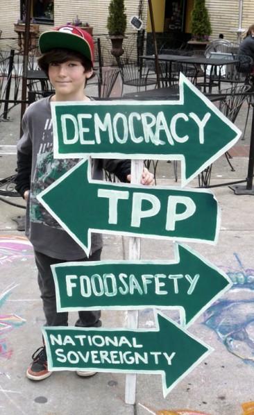 TPP Roadsign