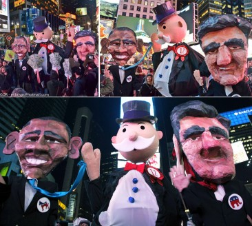 Electoral Monopoly Puppets