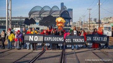 No Exploding Oil Trains in Seattle!