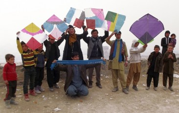 """""""Fly Kites Not Drones"""" Weekend of Action, March 21-23"""