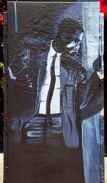 Malcom X Street Art