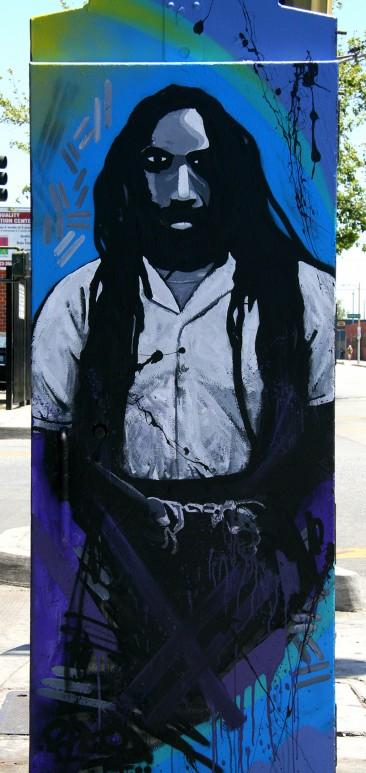 Mumia Abu Jamal Street Art