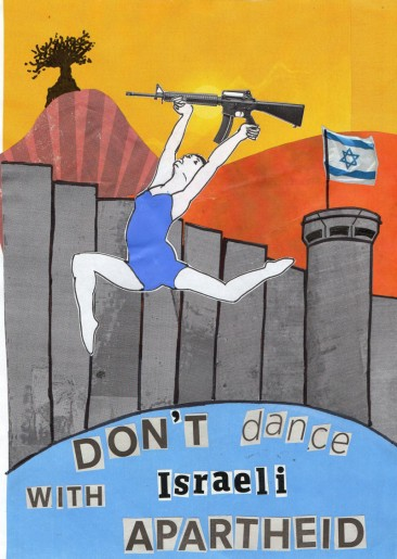 Don't Dance With Israeli Apartheid
