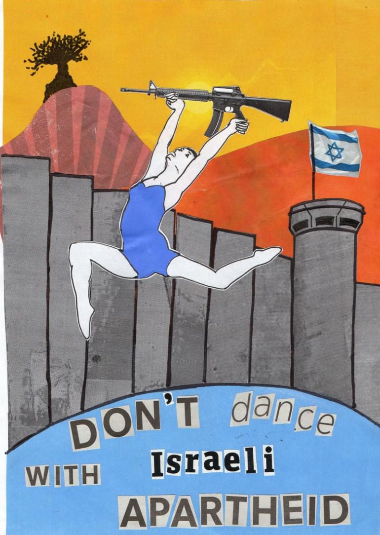 Don't Dance With Israeli Apartheid