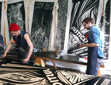 Gallery: Carving Through Borders