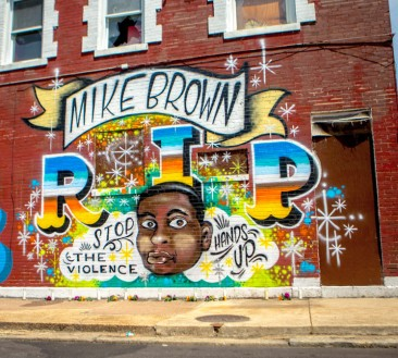 Mike Brown RIP Mural