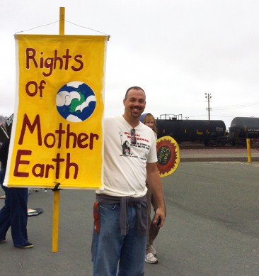 Rights of Mother Earth Before Oil Trains