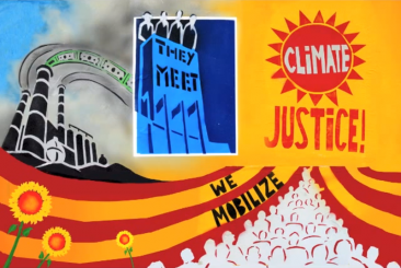 They Meet, We Mobilize. Climate Justice!