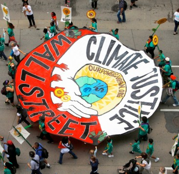 Climate Justice vs Wall St