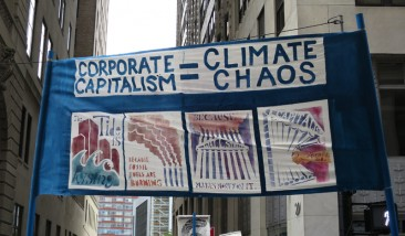 Corporate Capitalism=Climate Chaos