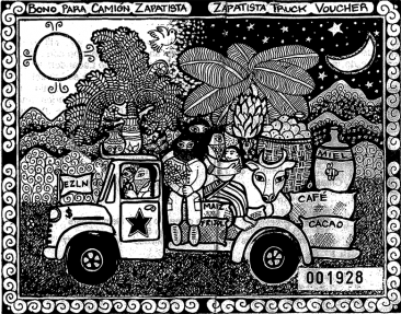 Zapatista Truck Voucher