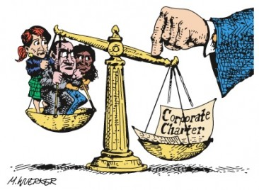 Corporate Scales of Justice