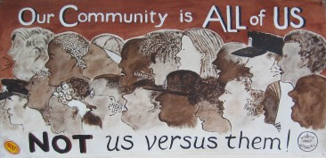 Our community is all of us, not us vs. them