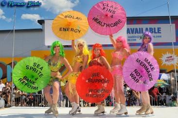 Occupy the Mermaids Parade