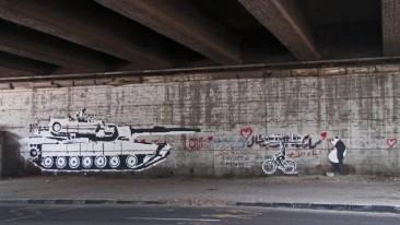 Tank vs Biker