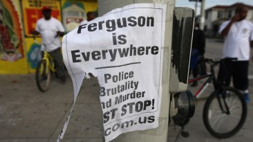 Poem: Ferguson Ev'rywhere Now