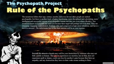 Rule of the Psychopaths