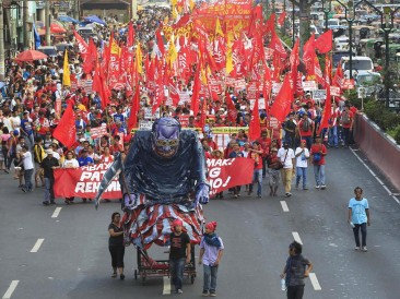 May Day 2015 in the Philippines