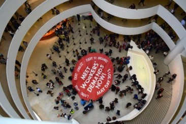 Occupy And Shutdown The Guggenheim