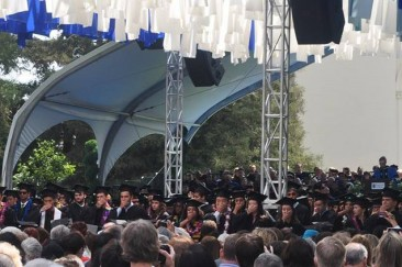Pomona Graduation Protest