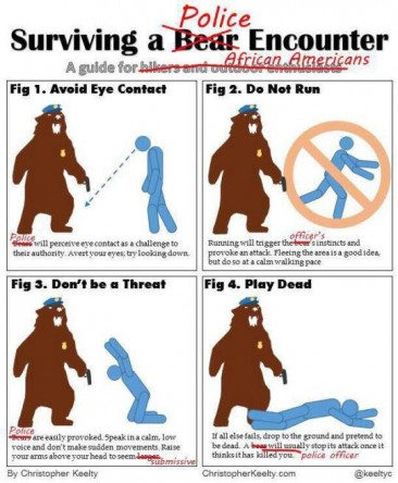 Surviving a Bear/Police Encounter