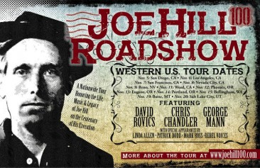 JOE HILL 100 WEST COAST TOUR