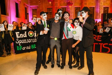 Activists gatecrash BP-sponsored Day of the Dead event at British Museum