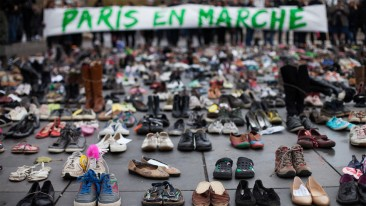 Creative Protest throughout COP21, Protests Bend to the Paris Emergency