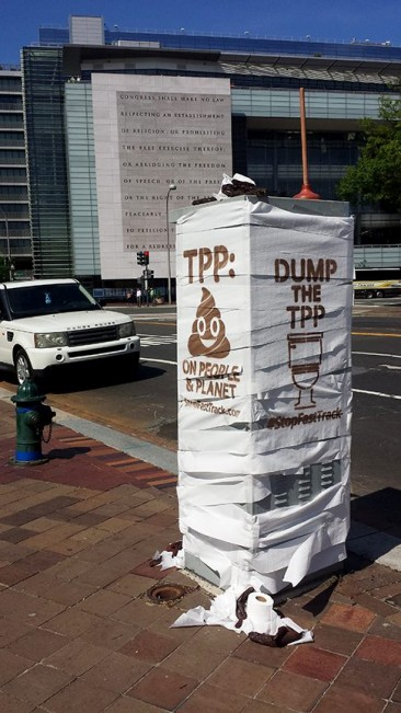 TPP is a S#!T DEAL for Democracy