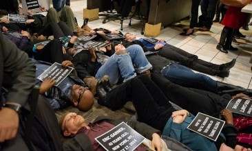 """2015 in Review –  Black Lives Matter """"die-ins"""""""