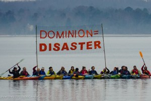 Dozens From Around the US Rally Against Dominion's LNG Export Terminal at Cove Point
