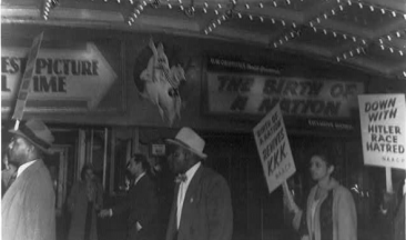 Picketing, The Birth of a Nation in 1915