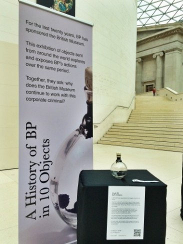'Disobedient exhibition' and anti-BP letter kick up a media storm for British Museum