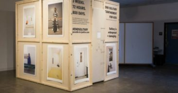 Display hopes to draw attention to, end practice of solitary confinement for juveniles