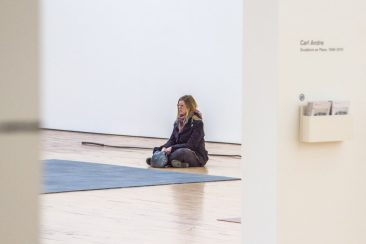 Crying for Ana Mendieta at the Carl Andre Retrospective