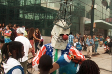 Who Uses Puppets For Political Protest?
