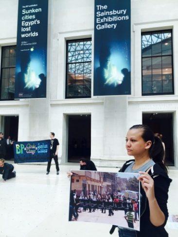 Five protests against BP arts funding in one week!