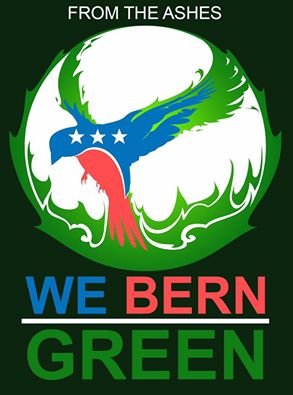 From The Ashes We Bern Green