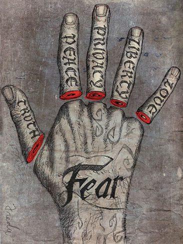 Fear Hand