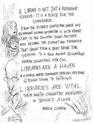 Libraries Are Vital