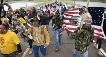 Standing Rock Veterans Are Going To Flint
