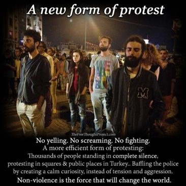 A New Form Of Protest