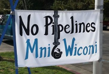 Sacramento Standing With Standing Rock