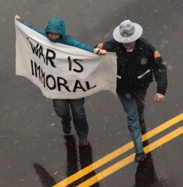 War Is Immoral