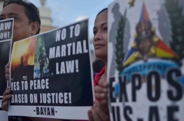 "The People Say ""No"" To Martial Law"